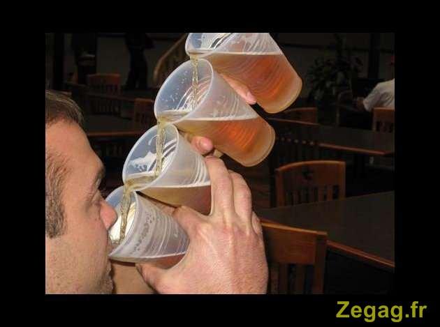 Le mari boit le deuxième jour