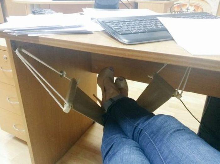 Idéal pour le bureau le hamac pour piedszegag images marrantes