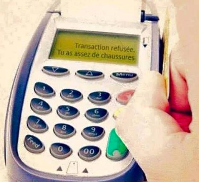 carte bancaire paiement refusé Pour les accrocs au shopping|Zegag.fr : images marrantes