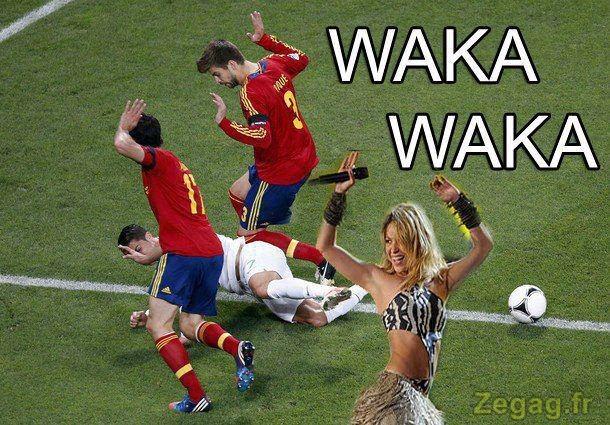Les footballeurs en mo...