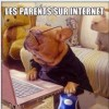 Les parents sur internet