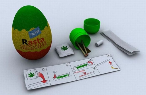Rasta surprise le Kinder des grands !