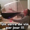 verre vin jour