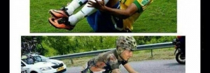 Différence Foot / Cyclisme