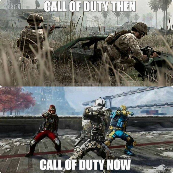 Call Of Duty Avant / Après