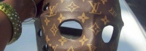 Le masque de Jason en Vuitton