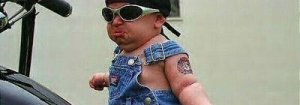 Baby gangster in da place