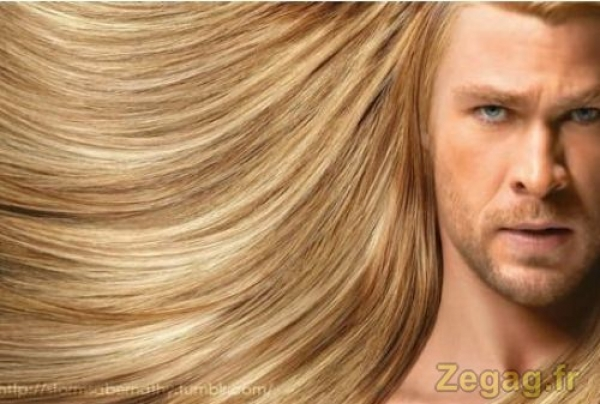 Thor utilise Head and Shoulders