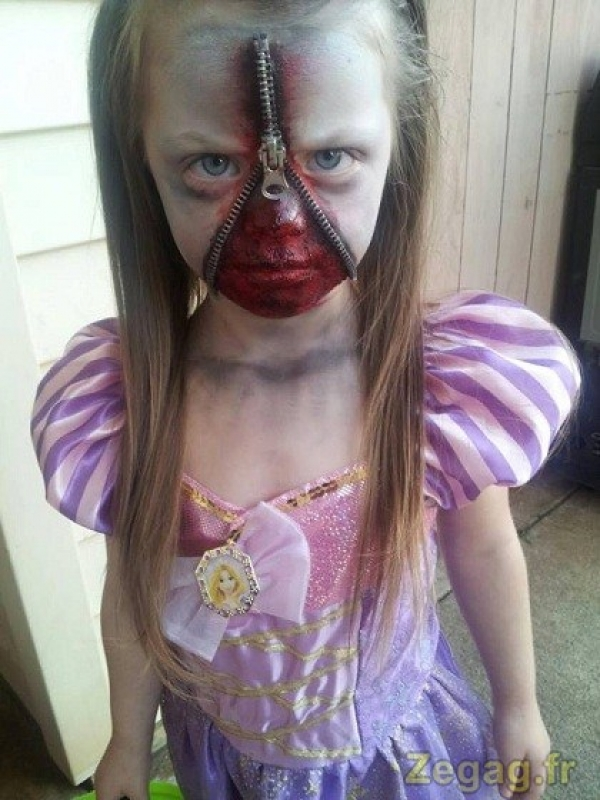 Excellent maquillage pour Halloween